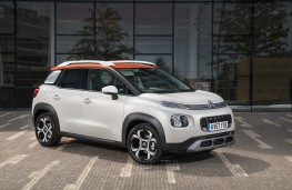 Citroen C3 Aircross, 2017, side, static