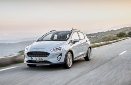 Ford Fiesta Active, 2018, front