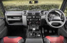 Land Rover Defender 90 Adventure, dashboard