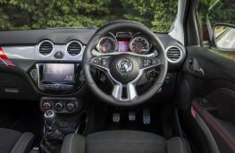Vauxhall Adam Rocks, 2017, dashboard