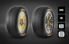 ContiAdapt tyre, 2019, footprints