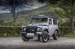 Land Rover Defender 90 Adventure, front