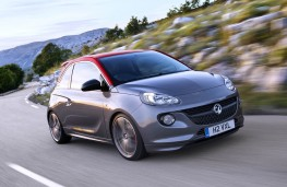 Vauxhall Adam S, front, action