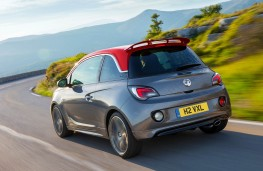 Vauxhall Adam S, rear, action