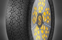 ContiAdapt tyre, small footprint