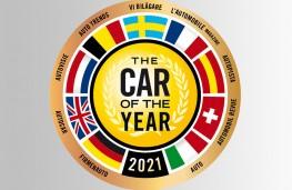 European Car of the Year, logo, 2021