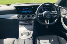 Mercedes E-Class Estate, 2021, interior