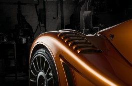 Morgan Aero GT, 2018, detail, vertical