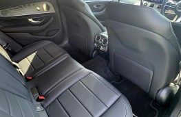 Mercedes E-Class Estate, 2021, rear seats