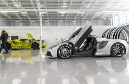 Lotus Evija assembly hall, 2021, cars