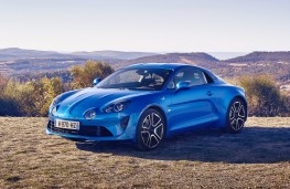 Alpine A110 Premiere Edition, 2017, front, static