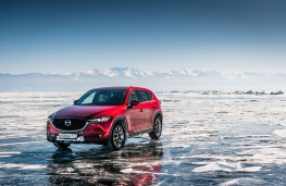 Mazda CX-5, Siberia, 2018, on ice