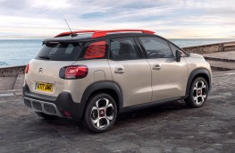 Citroen C3 Aircross, 2017, rear