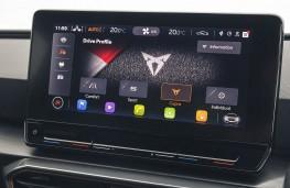 Cupra Leon, 2021, display screen