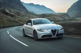 Alfa Romeo Giulia, front action
