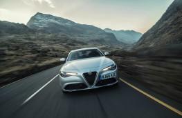 Alfa Romeo Giulia, dynamic front