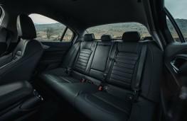 Alfa Romeo Giulia, interior rear