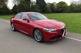 Alfa Romeo Giulia, front