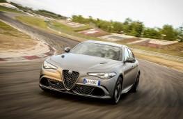 Alfa-Romeo Giulia Quadrifoglio NRING on track