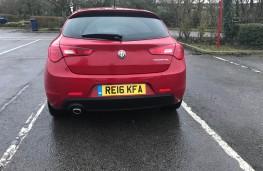 Alfa Romeo Giulietta, rear