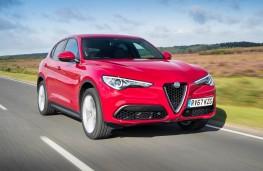 Alfa Romeo Stelvio, front action