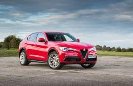 Alfa Romeo Stelvio, front static