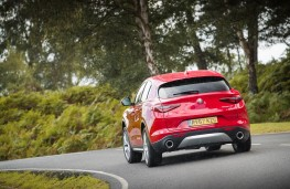Alfa Romeo Stelvio, rear action