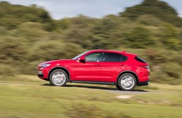 Alfa Romeo Stelvio, side action