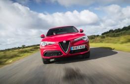 Alfa Romeo Stelvio, dynamic, front