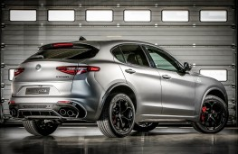 Alfa-Romeo Stelvio Quadrifoglio NRING rear