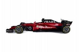 Alfa Romeo Sauber F1 car, 2018