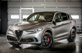 Alfa Romeo Stelvio Quadrifoglio NRING, 2018, front