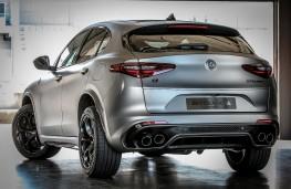 Alfa Romeo Stelvio Quadrifoglio NRING, 2018, rear