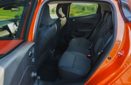 Renault Clio, rear seats