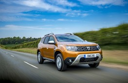 Dacia Duster, dynamic