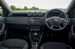 Dacia Duster, dashboard