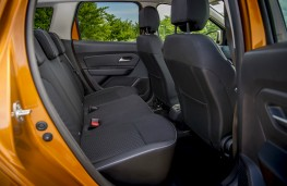 Dacia Duster, interior, rear