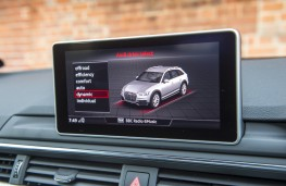 Audi A4 allroad, 2016, display screen