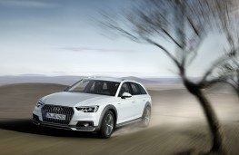 Audi A4 allroad quattro, 2016, front, action