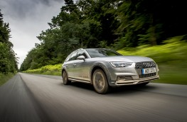Audi A4 allroad, 2016, front, action