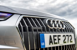 Audi A4 allroad, 2016, grille