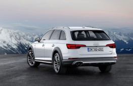 Audi A4 allroad quattro, 2016, rear, static