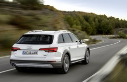 Audi A4 allroad quattro, 2016, rear, action