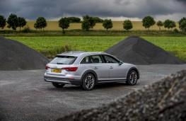 Audi A4 allroad, 2016, rear, static