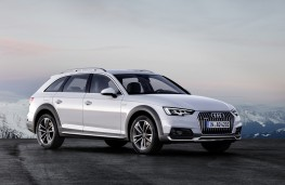 Audi A4 allroad quattro, 2016, side, static