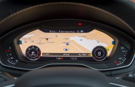 Audi A4 allroad, 2016, virtual cockpit display