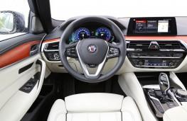 ALPINA BMW B5 Bi-Turbo, interior