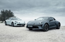 Alpine A110 Pure and Legende, 2018, front, static