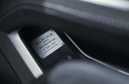 Alpine A110, 2017, Premiere Edition plaque