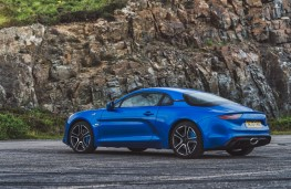 Alpine A110 Premiere Edition, 2018, rear, static